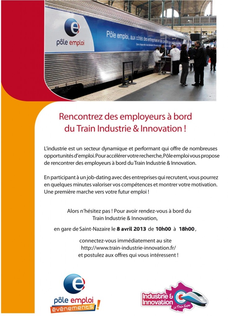 Invitation Train de l'Industrie et de l'Innovation