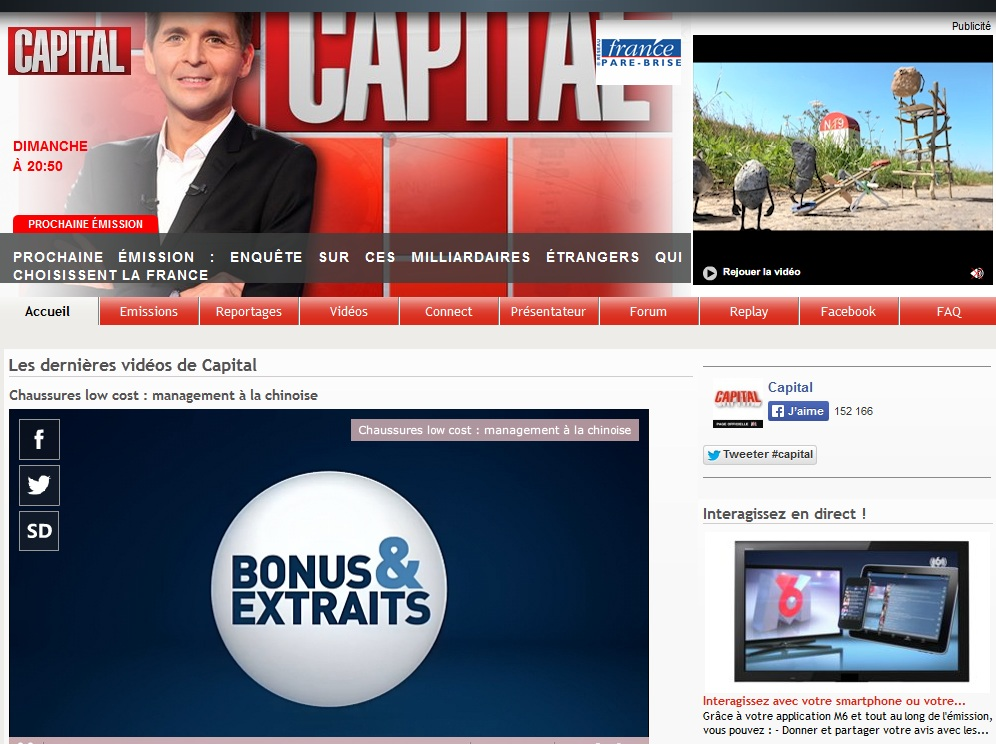 M6 capital site rencontre