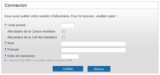 Www Caf Fr Messagerie